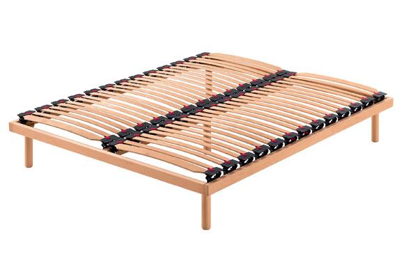 Reti letto telaio legno o alluminio wave 100 materassi pasqua roma produzione e vendita - Telaio del letto ...